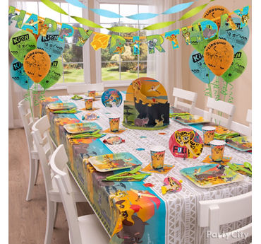 Lion Guard Party Table Idea