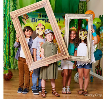 Lion Guard Photo Booth Activity Idea