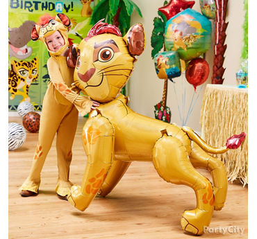 Lion Guard Birthday Costume Idea