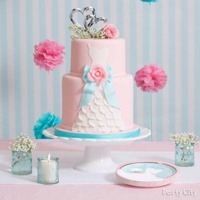 Bridal Dress Cake Idea