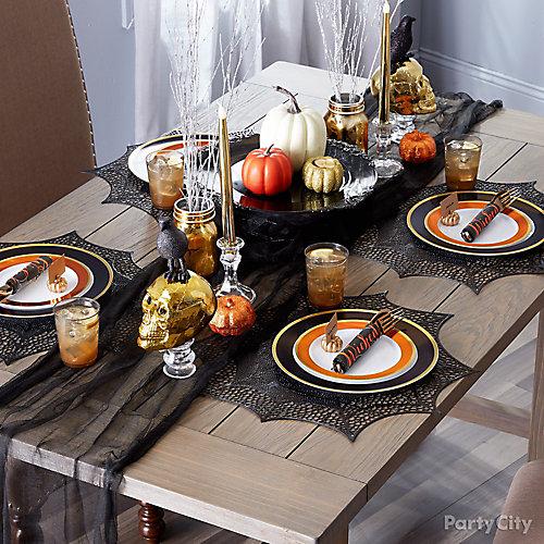 Elegant Halloween Dinner Ideas