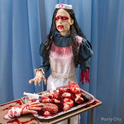 Asylum Nurse Haunted House Idea
