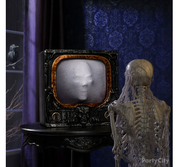Haunted Animatronic TV Idea