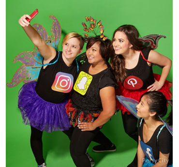 Social Butterfly Group Costume Idea
