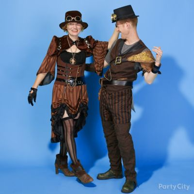Steampunk Couples Costume Idea