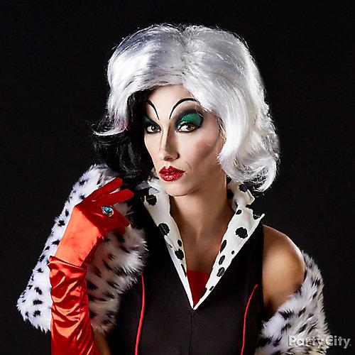 Cruella de Vil Makeup How To