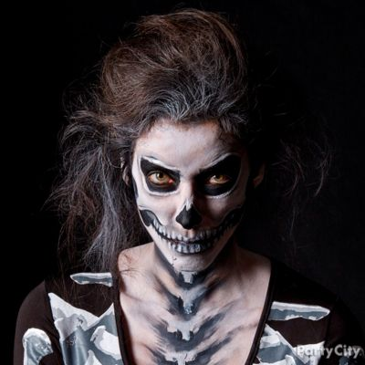 Black and Bone Makeup How To