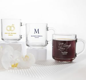 Personalized Glass Coffee Mugs <br>(Printed Glass)</br>