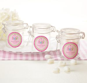 Personalized Small Glass Jars