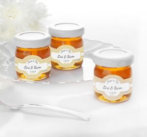 Personalized Glass Honey Jars <br>(Printed Label)</br>