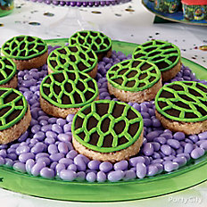 TMNT Shell Crispy Rice Treats