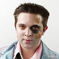 Create dead zombie eyes