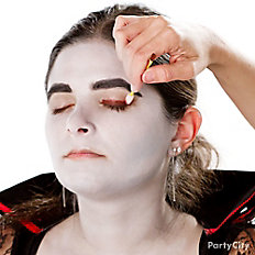 Create striking vampire eyes