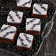 Bloody Good Chain Rattling Brownies