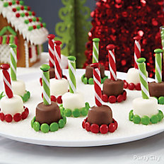 Marshmallow Candy Pops
