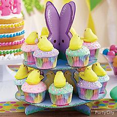 Peeps Chick Pastel Cupcakes