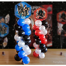 Star Wars Balloon Tower How-To