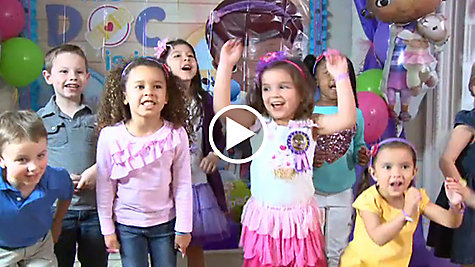 Doc McStuffins Party Ideas Video
