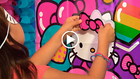 Rainbow Hello Kitty Party Ideas Video