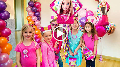 Barbie Party Ideas Video