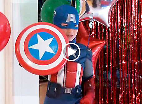 Avengers Party Ideas Video