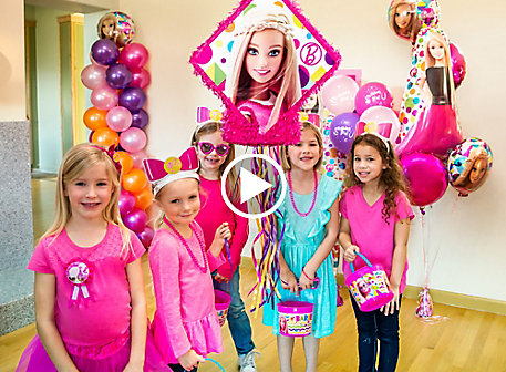 Barbie Party Ideas Video