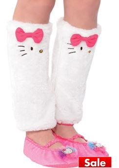 Child Hello Kitty Leg Warmers