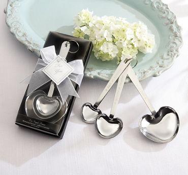 Love Beyond Measure Heart-Shaped Measuring Spoons