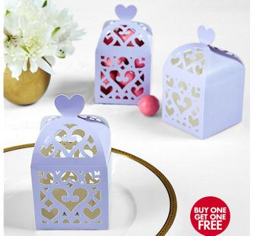 Lilac Lantern Favor Boxes
