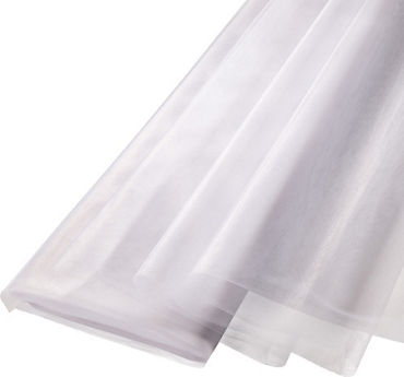 White Tulle Bolt