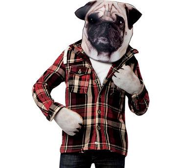 Pug Costume Accessory Kit 2pc