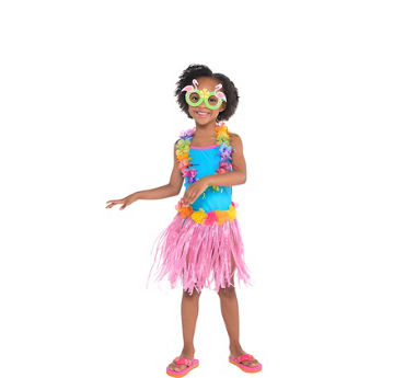 Girls Basic Luau Accessories Kit