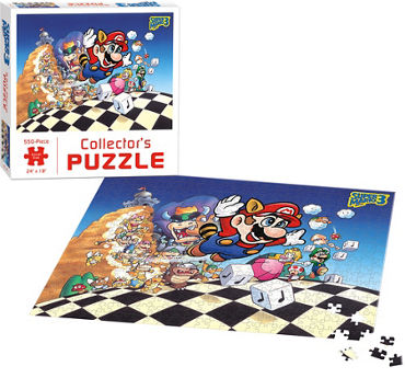 Super Mario 3 Collector's Puzzle 550pc