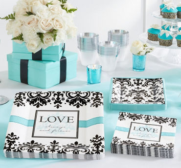 Always & Forever Wedding Party Supplies
