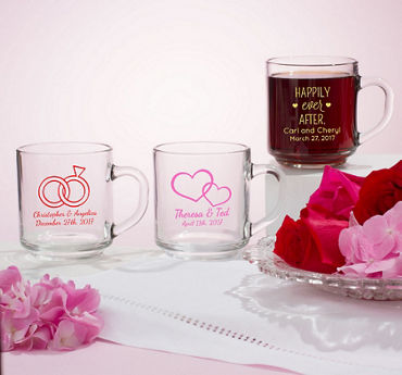 Personalized Glass Coffee Mugs (Printed Glass)
