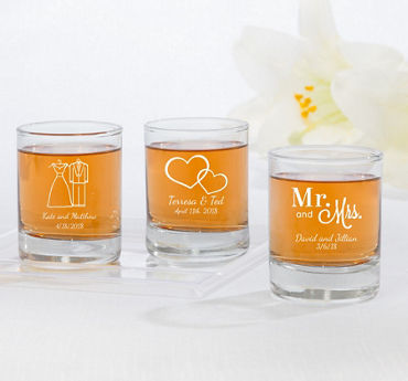 Personalized Shot Glasses (Printed Glass)