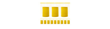 Yellow Lantern Garland 12ft