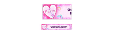 Princess Custom Birthday Banner
