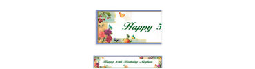 Le Jardin Custom Banner 6ft