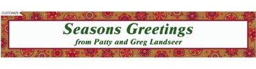 Christmas Treasures Custom Banner 6ft