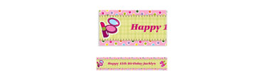 Sleepover Party Custom Banner 6ft
