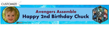 Avengers Custom Photo Banner 6ft