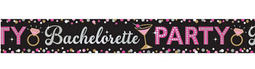 Bachelorette Party Foil Banner - Sassy Bride