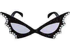 Rhinestone Wing Sunglasses
