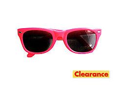 Neon Pink Sunglasses