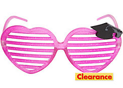 Sparkling Graduation Slotted Glasses