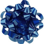 Royal Blue Gift Bow