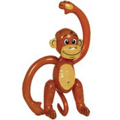 Inflatable Monkey 25 1/2in