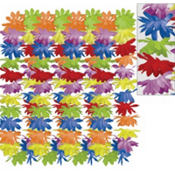 Rainbow Floral Leis 42in 25ct