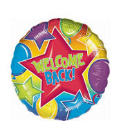 Welcome Back Balloon 18in
